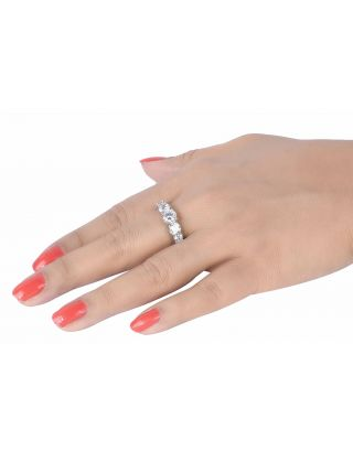 Full Cubic Zirconia Band