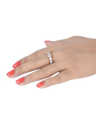Gold Plated Zirconia Ring