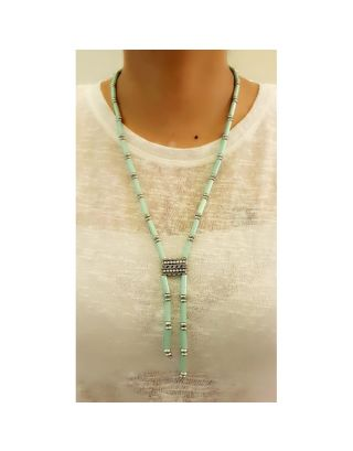 Designer Green Beads Necklace