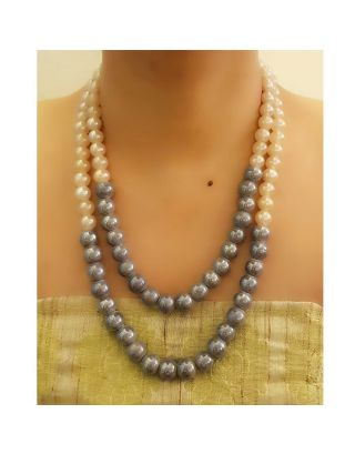Pearl Two Layer Necklace