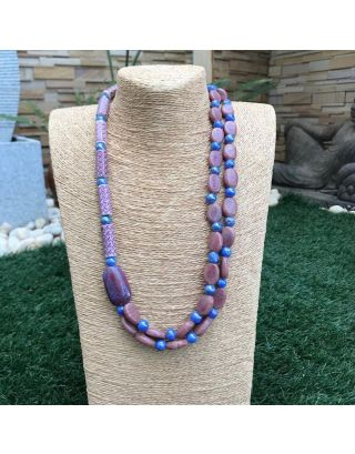 Lavender Stone Necklace