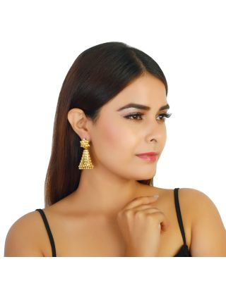 Exotic Floral Jhumkis