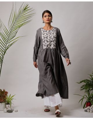Grey Fox Printed Kurta