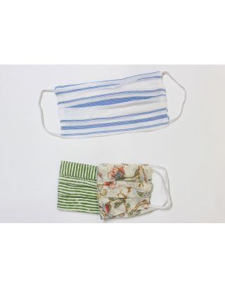 Cotton Fabric Masks Pack of 2