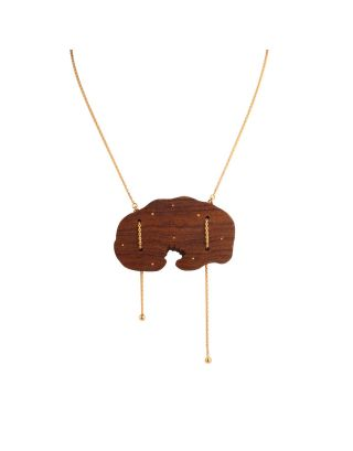 Wooden Intregate Necklace