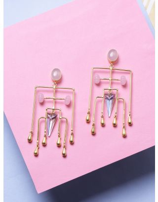 Magnificent Glass Stone Earrings