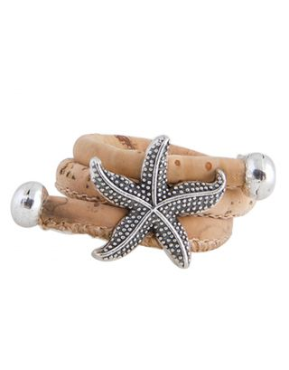 Beige Sea Star Ring