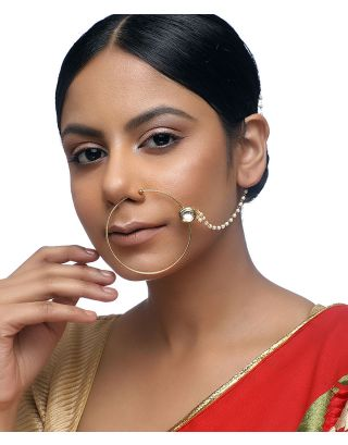Glass Kundan Naath