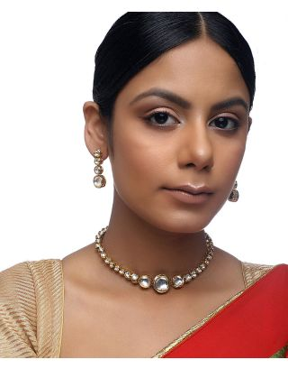Small Kundan Choker Set