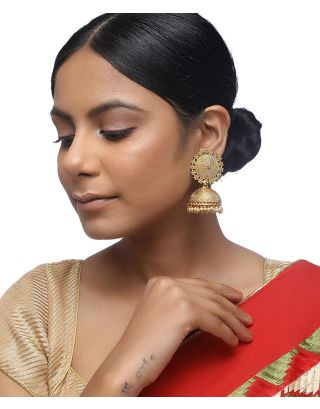 Gold Plated Jhumkis