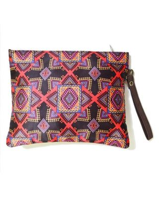 Poliyester Fabric Graphic Pouch