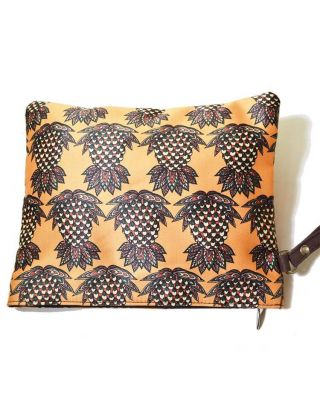 Pinapple Print Pouch