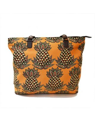 Pineapple Printed hand bag