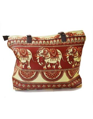Elephant Printed hand bag