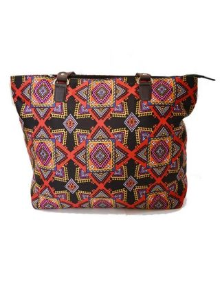 Graphic Printed hand bag