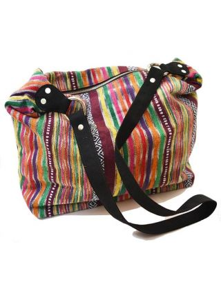 Printed Ikat Jhola Bag