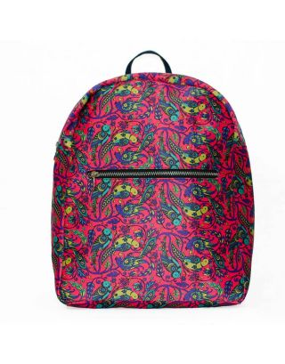 Paroot Printed Backpack