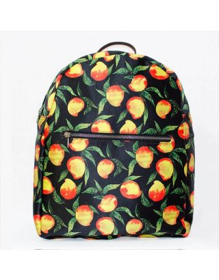 Mango Printed Backpack