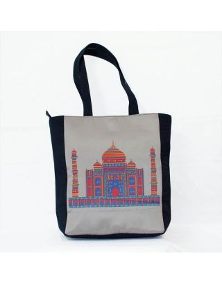 Grey Taj Tote Bag