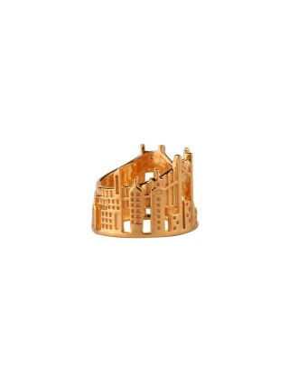 Golden New York Ring