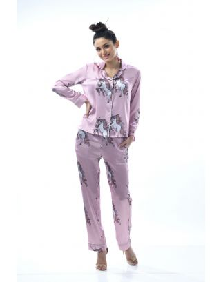 Unicorn Print Slumber Set