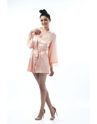 Rose Gold Cordon Robe