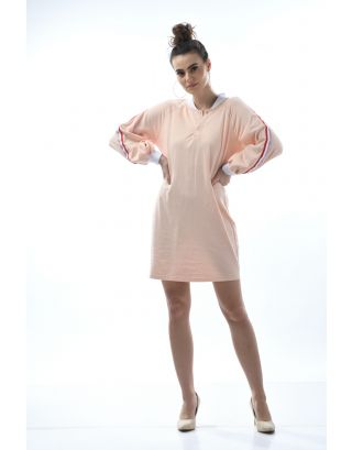 Rose Gold Oversized Boyfriend Sleep Dress
