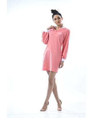 Old Rose Oversized Boyfriend Sleep Dress