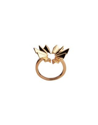 Golden Thorny Ring