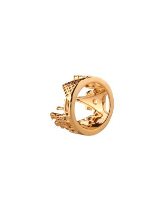 Golden Paris Ring