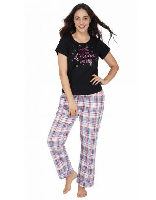 Love Check Pajama Set