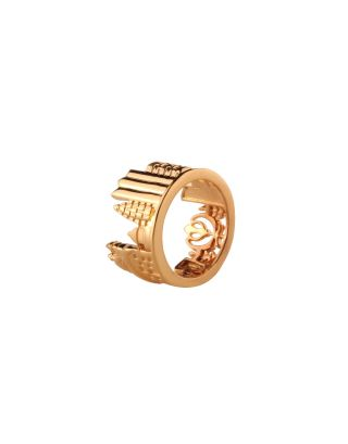 Golden temple ring