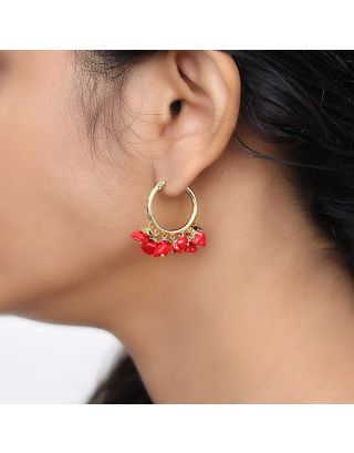 Red Chilli Baali Earrings