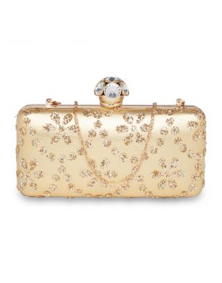 Gold Work Clutch