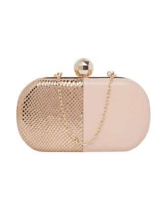 Pink with Gold Clutch