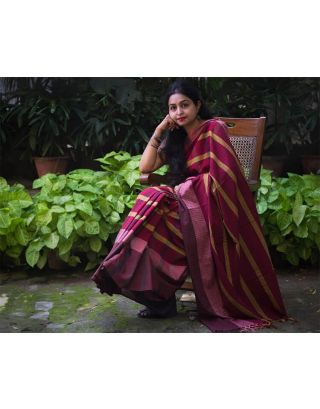 Cotton Gamcha Saree
