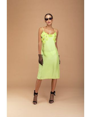 Lime Green Camisole Dress