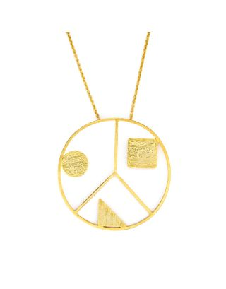 Golden Peace Neckpiece