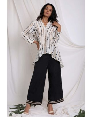Ivory Anti Fir Printed Shirt