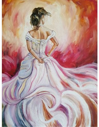 The Bride Oil Painting