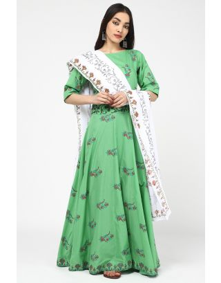 Green Valley Dupatta