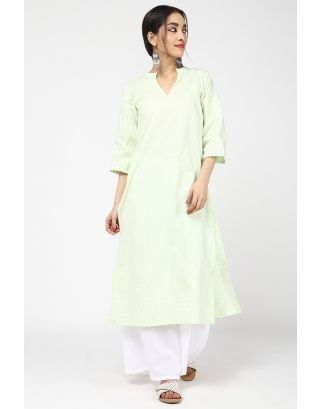 Green Eye Catching Kurta