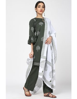 Spray Cotton Dupatta