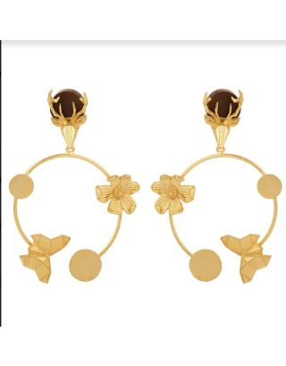 Gold plated Paradise Earring