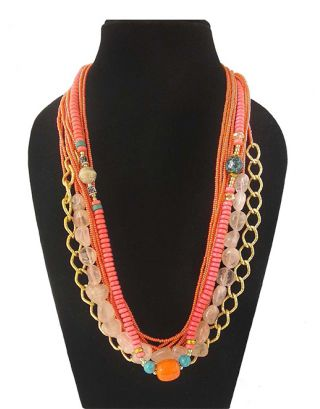 Designer Bead Stone Necklace