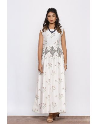Floral Printed Gown