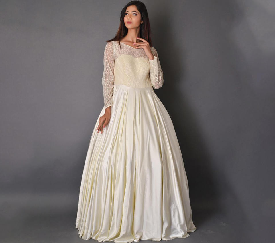 WHITE PRINCESS BALL GOWN